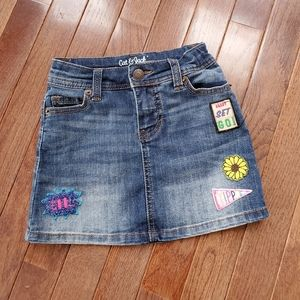 Cat&Jack girl denim skirt
